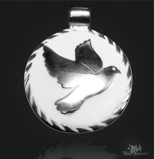 Amulett Friedenstaube 925/000 Silber - Vorschau 1