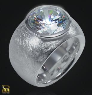 Ring 925/000 Silber mit Zirkonia