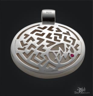 Das Siegel des Salomon aus 925/000 Sterling Silber mit Kautschukband - Vorschau 5