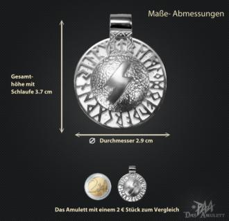 Runen-Amulett Sowilo aus 925/000 Silber - Vorschau 3