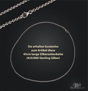 Engelanhänger mit Bogen aus 925/000 Silber - Vorschau 2