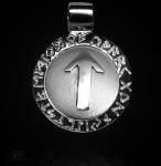 Runen-Amulett Tiwaz ∅ 20 mm
