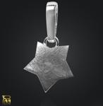 Einhänger Stern mit Clipschlaufe 925/000