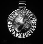 Runen-Amulett Sowilo aus 925/000 Silber