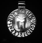 Runen-Amulett Ehwaz aus 925/000 Silber