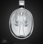 Schutzengel Anhänger 925/000 Silber