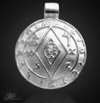 Amulett des Reichtums aus 925/000 Silber