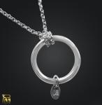 Silberkette mit Ring für Einhänger 925/000 Silber