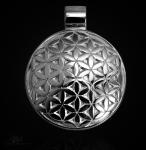 Amulett Blume des Lebens aus 925/000 Sterling Silber