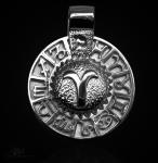 Sternzeichen Widder - Tierkreiszeichen Amulett 950/000 Platin