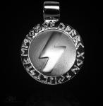 Runen-Amulett Sowilo 925/000; 20 mm