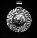 Sternzeichen Stier - Tierkreiszeichen Amulett 950/000 Platin