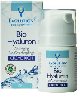 Evolution Bio Hyaluron Gesichtscreme Rich