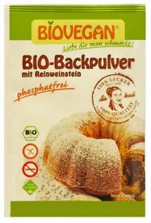 Biovegan Bio Backpulver