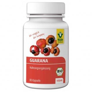Raab Bio Guarana Kapseln