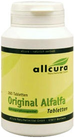 Allcura Alfalfa Tabletten