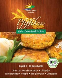 Pfiffikuss Bio Bratlinge Reis-Gemüse
