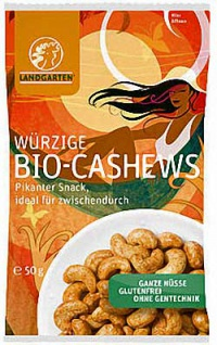 Landgarten Bio Cashews würzig