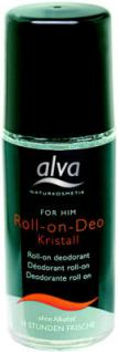 alva FOR HIM Kristall Deo Roll-On