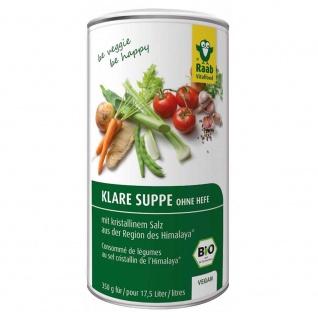 Raab Bio Klare Suppe ohne Hefe