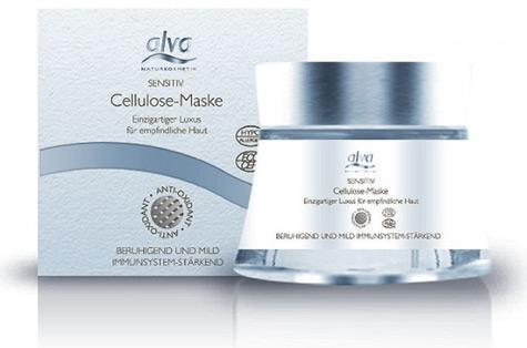 alva Sensitiv Cellulose-Maske
