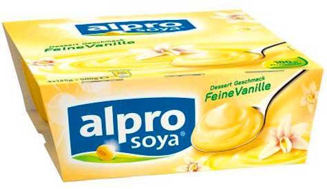 Alpro Soya Dessert Feine Vanille - Vorschau