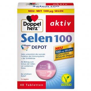 Doppelherz Selen 100 Depot 2-Phasen Tabletten