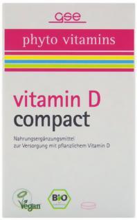 GSE Bio Vitamin D compact Tabletten