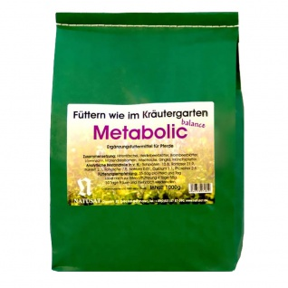 Natusat Kräuter Metabolic Balance