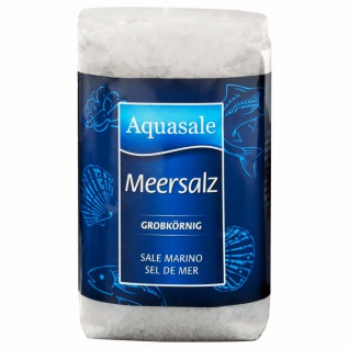 Aquasale Meersalz grob