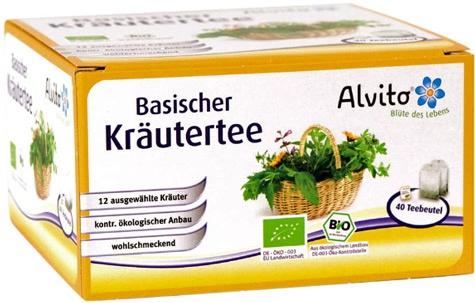 Alvito Basischer Kräutertee Beutel
