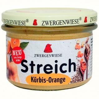 Zwergenwiese Bio Streich Kürbis-Orange
