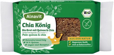 Alnavit Bio Chia König Brot - Vorschau