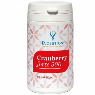 Evolution Cranberry forte 500 Kapseln