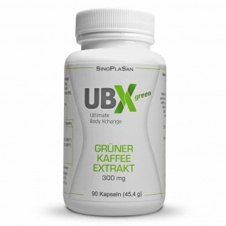 SinoPlaSan UBX Green Grüner Kaffee Extrakt Kapseln