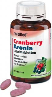 revoMed Cranberry Aronia Lutschtabletten