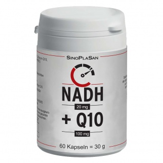 SinoPlaSan NADH 20mg + Q10 100mg Kapseln
