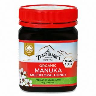 TranzAlpine Bio Manuka Honig MGO 100+