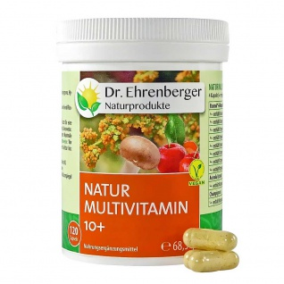 Dr. Ehrenberger Natur-Multivitamin 10+ Kapseln