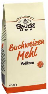 Bauckhof Bio Buchweizen Mehl Vollkorn