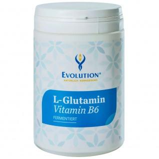 Evolution L-Gutamin Vitamin B6 Pulver