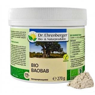 Dr. Ehrenberger Bio Baobab Fruchtpulver