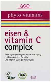 GSE Bio Eisen + Vitamin C Complex Tabletten