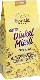 Bauckhof Bio Dinkel Müsli beerenzart