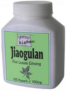 Gesund & Leben Jiaogulan Kapseln