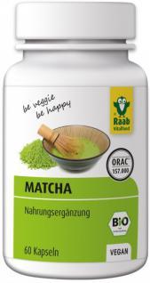 Raab Bio Matcha Kapseln