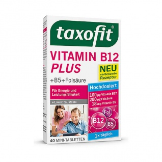 Taxofit Vitamin B12 Plus Tabs