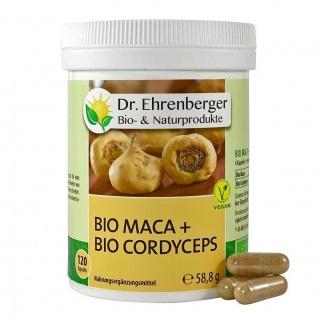 Dr. Ehrenberger Bio Maca + Cordyceps Kapseln