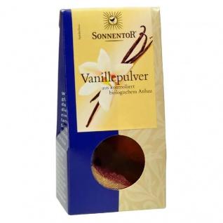 Sonnentor Bio Vanille Pulver