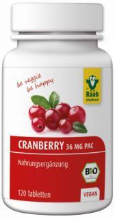 Raab Bio Cranberry Tabletten